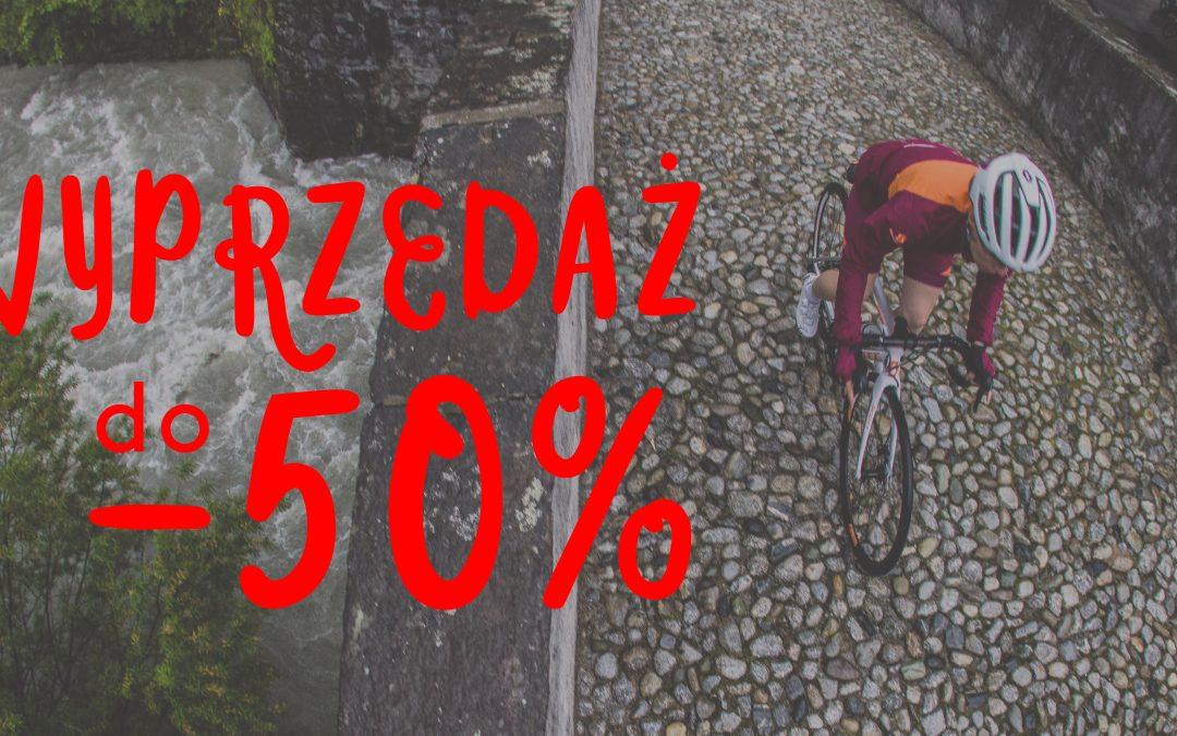 Wielka wyprzedaż rowerów!
