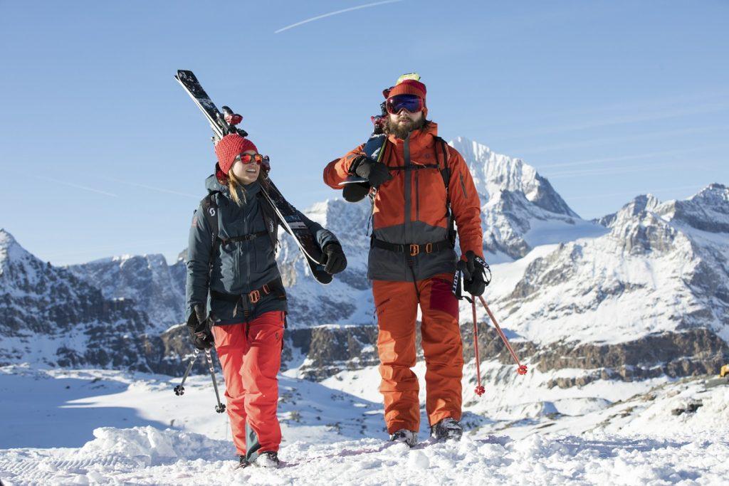 narty odzież dla narciarzy scott