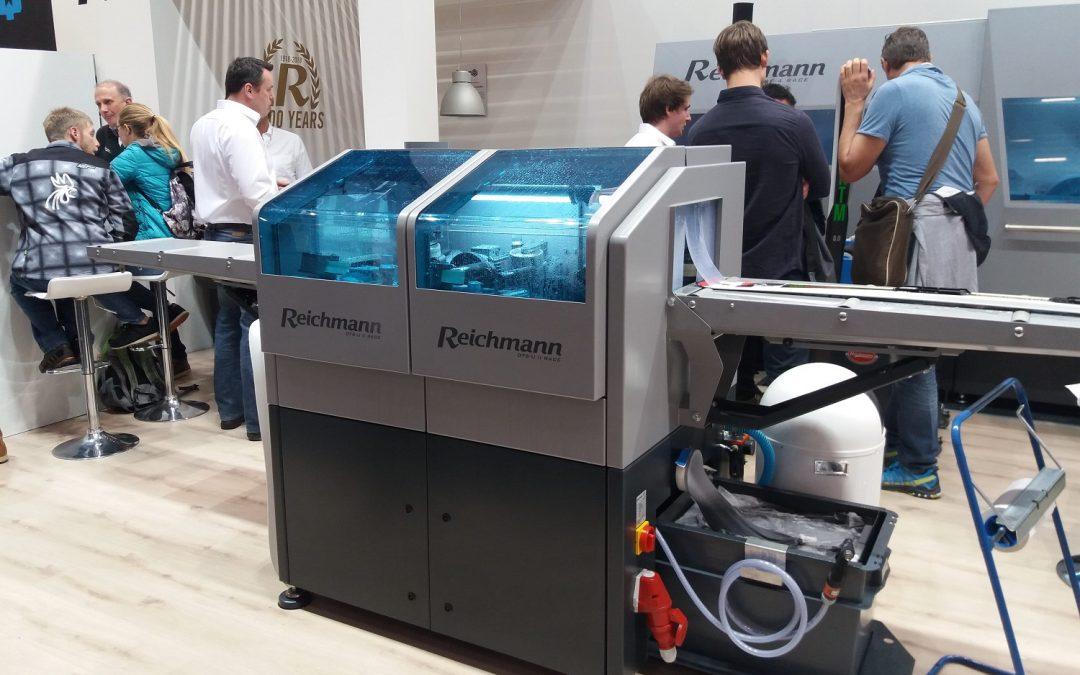 Maszyny do serwisowania nart Reichamnn na ISPO 2018