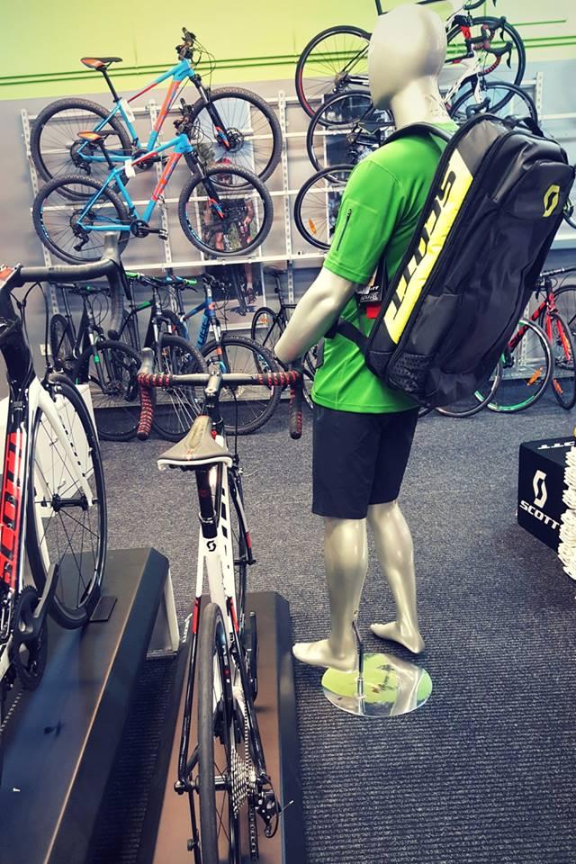 Plecak rowerowy na wyścig