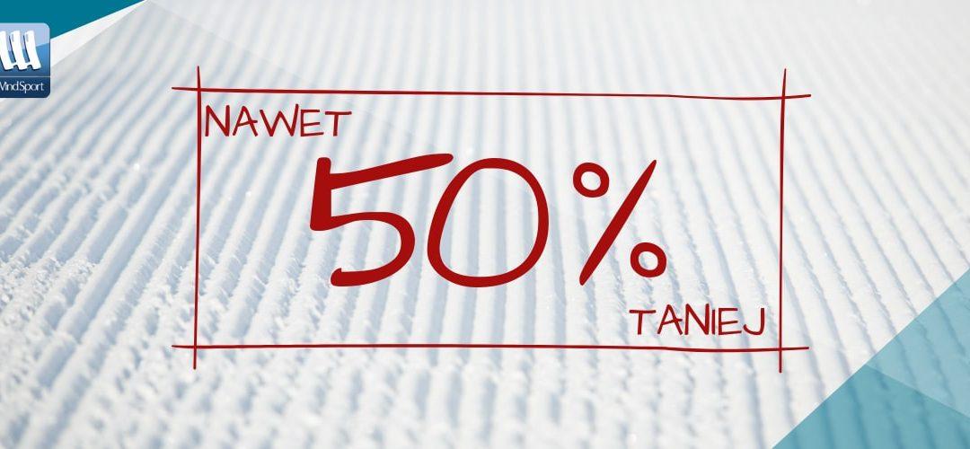Wyprzedaż zimy do -50%!