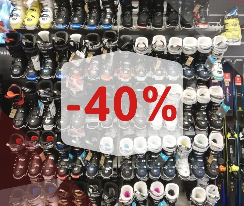 Buty narciarskie Salomon taniej o 40%!