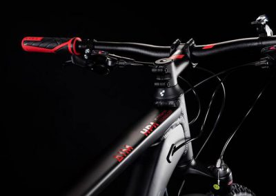 rower Cube Aim Race black´n´red 2019 sklep kraków 3-min