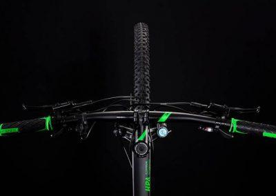 rower Cube Analog black´n´green 2019 sklep kraków 1-min