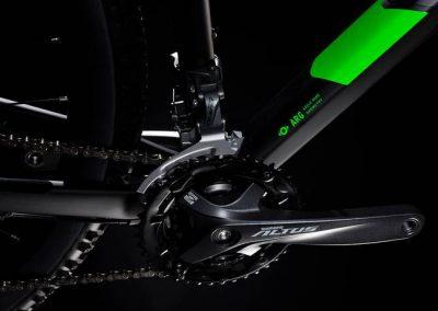 rower Cube Analog black´n´green 2019 sklep kraków 3-min