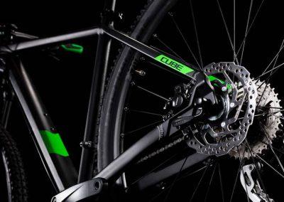 rower Cube Analog black´n´green 2019 sklep kraków 5-min
