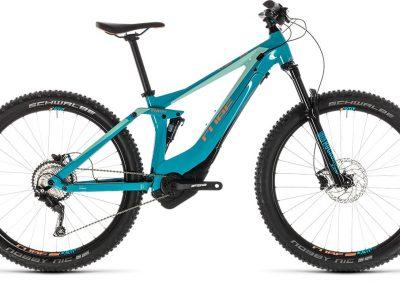 Cube Sting Hybrid 120 Race 500 turquoise´n´apricot 2019 sklep rowerowy kraków (1)