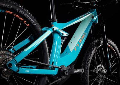 Cube Sting Hybrid 120 Race 500 turquoise´n´apricot 2019 sklep rowerowy kraków (2)