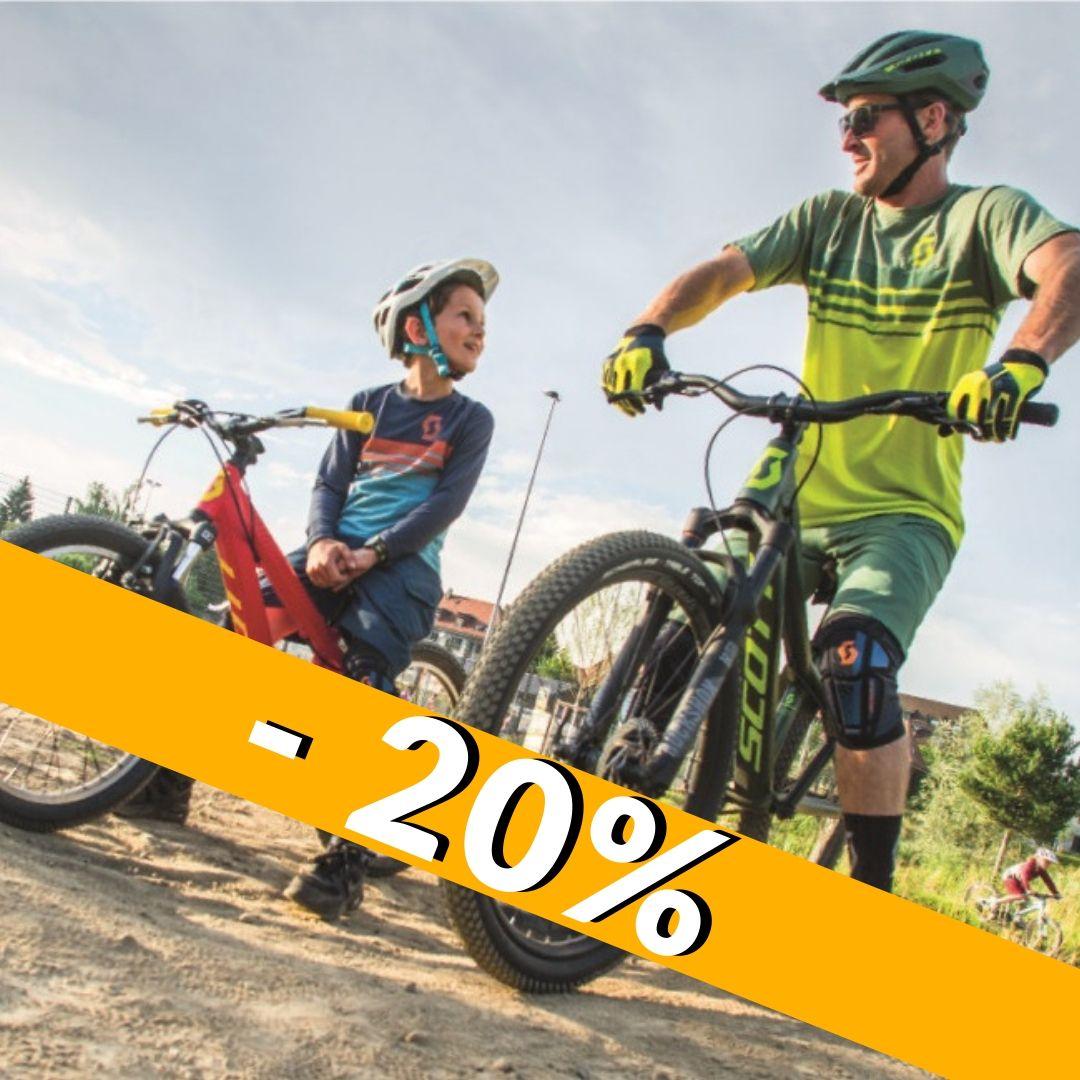 Odzież rowerowa 20% taniej!