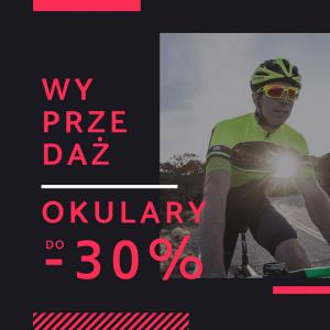 Okulary rowerowe do 30% taniej! sklep rowerowy kraków