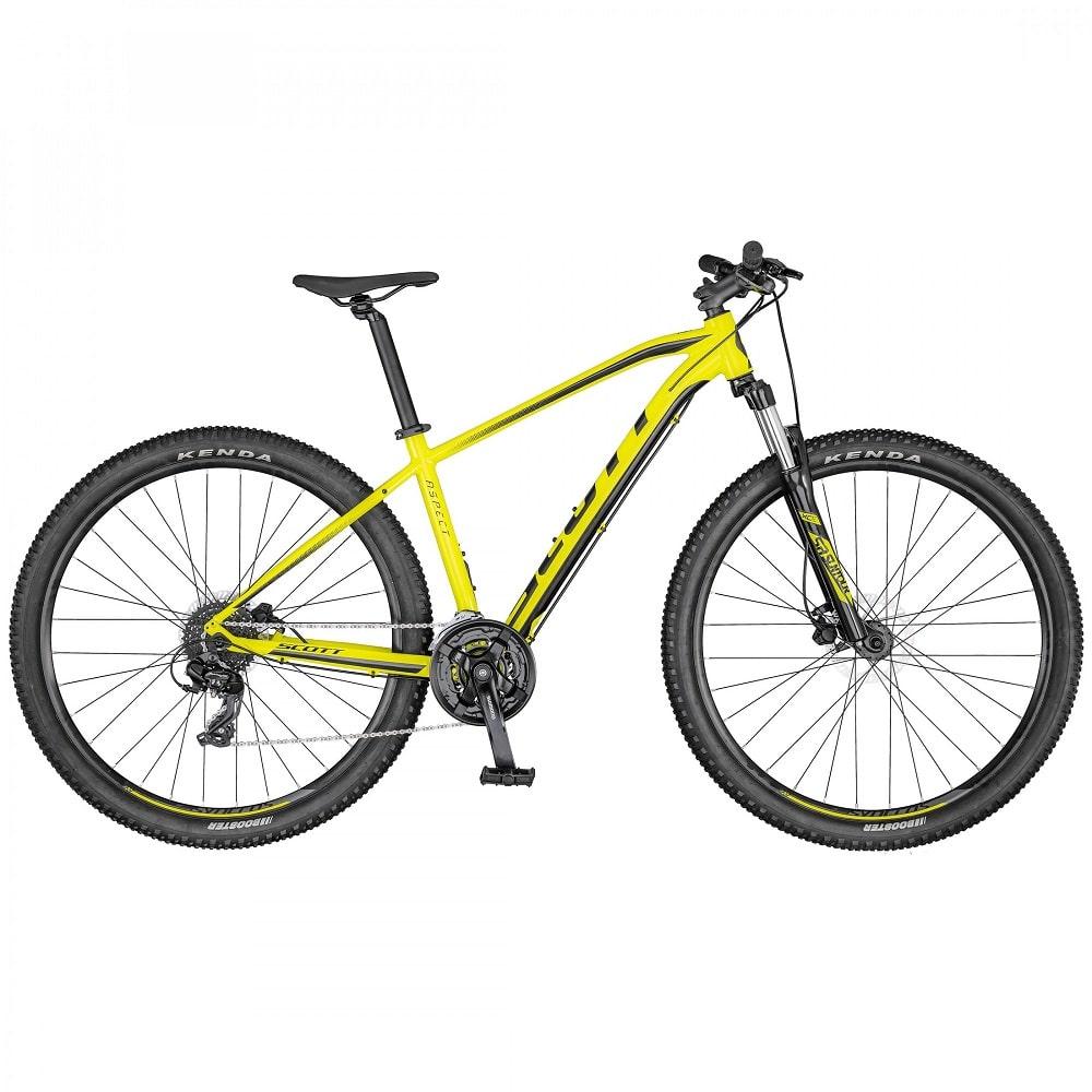 rower scott aspect 760 Yellow Black 2020-min