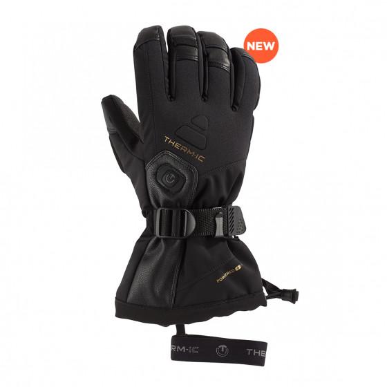 podgrzewane rękawice narciarskie Ultra Heat Men Black