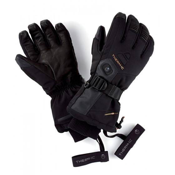 podgrzewane rękawice narciarskie Ultra Heat Men Black_4