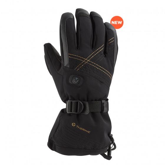 podgrzewane rękawice narciarskie Ultra Heat Woman Black therm-ic